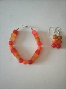bracelet_boucles_rouge_orange